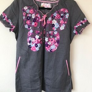 Scrub top from koi. New no tags